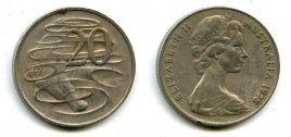 20 центов Австралия