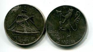 1 крона 1999 год Норвегия