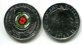 20 центов 2006 год Новая Зеландия