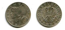 10 шиллингов 1975 год Австрия