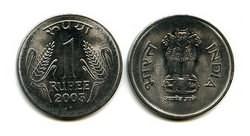 1 рупия 2003 год Индия
