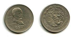 500 песо 1988 год Мексика