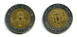 500 лир 1984 год Сан-Марино