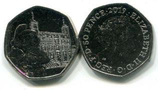 1 фартинг 1928 год Великобритания