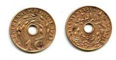 1 цент 1945 год Нидерландская Индия