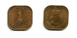 1 цент Малайя