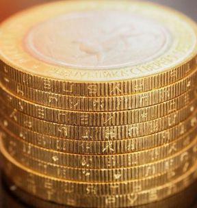 Россия 10 рублей 2013 год Республика Северная Осетия-Алания 180 рифлений