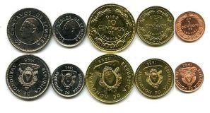 Набор монет Гондураса