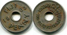 1 пенни Фиджи