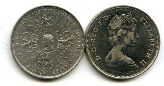 1 крона 1980 год Великобритания