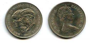 1 крона 1981 год Великобритания