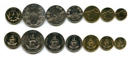 Набор монет Вануату