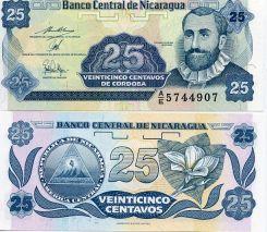 25 сентаво Никарагуа