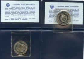 100 динар 1985 год (40 лет освобождения Югославии и победы над фашизмом 1945-1985 год) Югославия