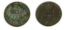 1/2 крейцера 1816 год Австрия
