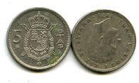 5 песет (Хуан Карлос I) Испания