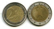 2 евро 2010 год Германия