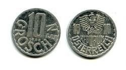 10 грошей Австрия
