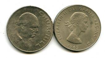 1 крона 1965 год (Черчиль) Великобритания