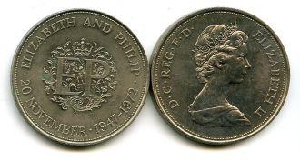 1 крона 1972 год Великобритания