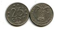 25 центов Нидерландские Антиллы