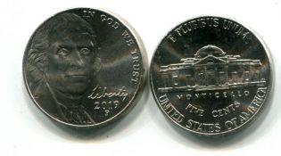 5 центов 2006 год США