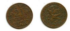 2 1/2 цента 1944 год Нидердандские Антиллы (Кюрасао)