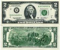2 доллара 2009 год США