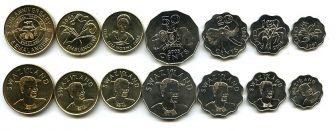 Набор монет Свазиленда