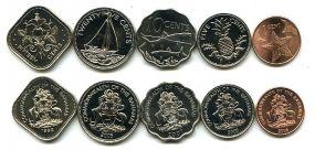 Набор монет Багам