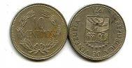 10 сентимо 1971 год Венесуэла