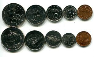 Набор монет Израиля посвящённых Хануке