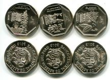 Набор монет Перу 2013 год