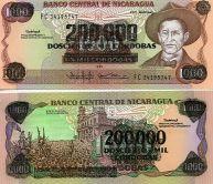 200000 кордоба Никарагуа