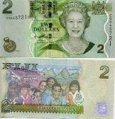 2 доллара Фиджи