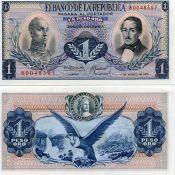 1 песо Колумбия