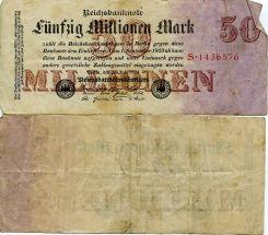 50 000 000 марок 1923 год Германия