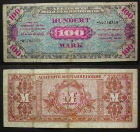 100 марок 1944 год Германия