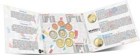 Набор монет евро Бельгии 2019 год