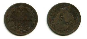 10 чентизимо 1894 год Италия