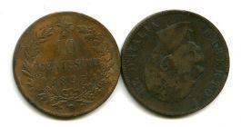 10 чентизимо 1893 год Италия