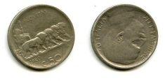 50 чентизимо 1920 год Италия