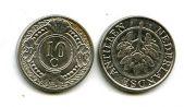 10 центов Нидерландские Антиллы (цветок)