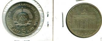 5 марок 1971 год А Германия