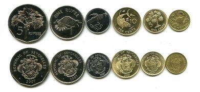 Набор монет Сейшельских островов