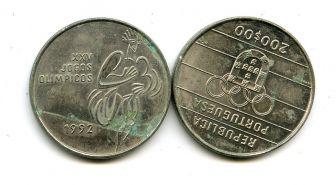 200 эскудо 1992 год (олимпиада) Португалия