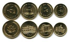 Набор монет Ирана (4 монеты)