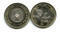 500 иен 2008 год (Киото) Япония