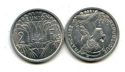 2 франка Реюньон
