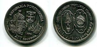 200 эскудо 1994 год Португалия